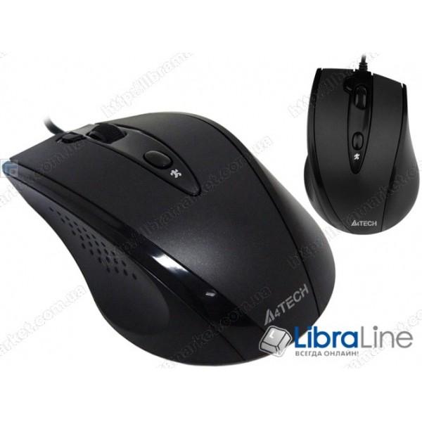Мышь A4-Tech N-770FX-1 black (USB)