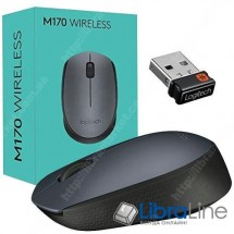 Компьютерная мышь Logitech M170 Grey / Black USB, wireless, 910-004642