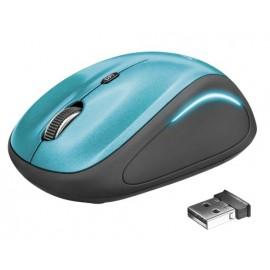 Мышь беспроводная Trust Yvi FX blue (USB 22334, wireless)