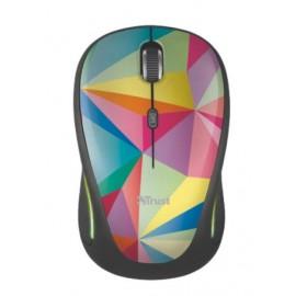 Мышь компьютерная Trust Yvi FX geometrics USB 22337, wireless