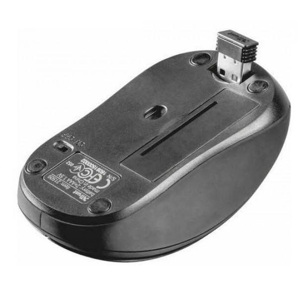 Мышь Trust Ziva Compact black 21509 (USB,wireless)