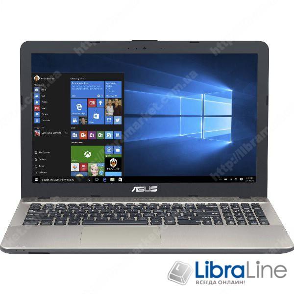 Ноутбук ASUS X541NC-DM025 15FM/ N4200/ 4/ 128 SSD/ GT810 2GB/ Linux/ Black 90NB0E91-M00320