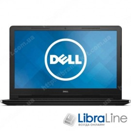 I35C45DIW-60 Ноутбук Dell Inspiron 3552 15.6 / Intel N3060 / 4 / 500 / DVD / Int / W10 / Black / UKR