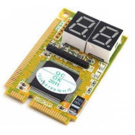 Пост-карта ST8672 PCIe, LPC с MiniPCI