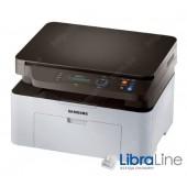 SL-M2070/SS293B МФУ А4 Samsung M2070 20стр/мин/1200x1200 dpi,сканер 1200x1200 dpi cis,USB 2.0,10000 стр/мес