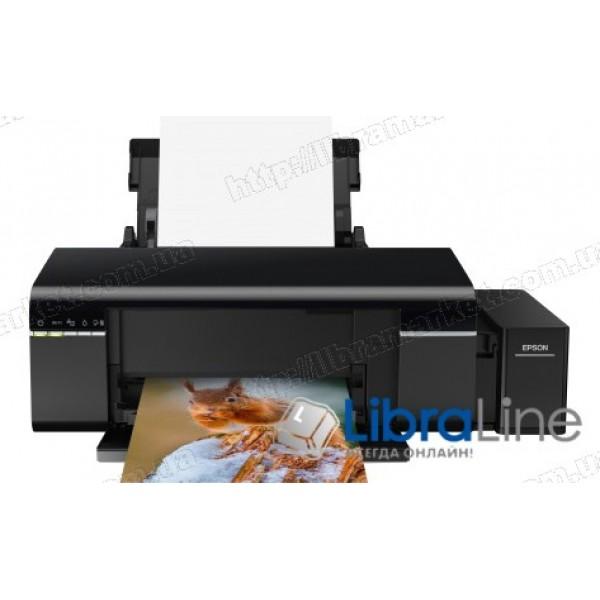 Принтер А4 Epson L805 Фабрика печати c WI-FI C11CE86403