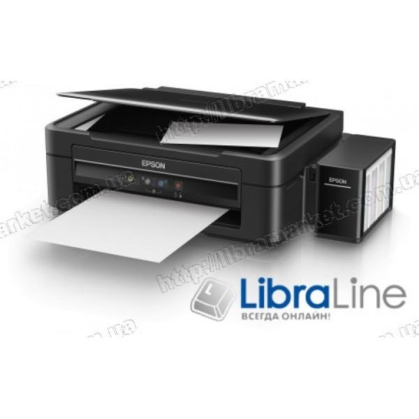 МФУ струйное А4 цветное Epson L382 Фабрика печати C11CF43401