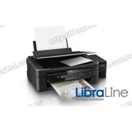 МФУ струйное А4 цветное Epson L386 Фабрика печати c WI-FI C11CF44403