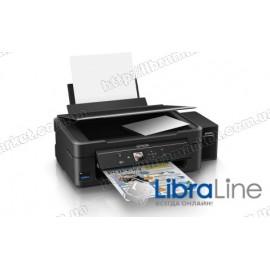 МФУ струйное А4 цветное Epson L486 Фабрика печати c WI-FI C11CF45403