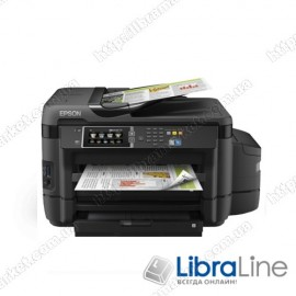 МФУ струйное А3 цветное Epson L1455 Фабрика печати c WI-FI C11CF49403