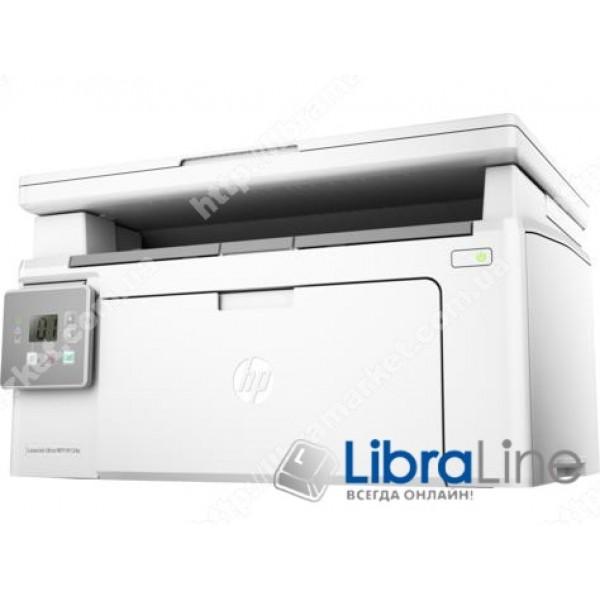 МФУ лазерное А4 ч/б HP LaserJet Ultra M134a G3Q66A