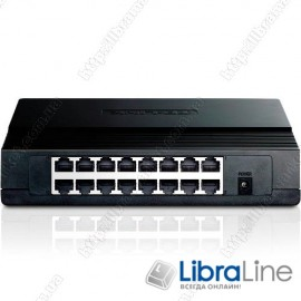 Коммутатор TP-Link TL-SF1016D 16port 10/100Mбит