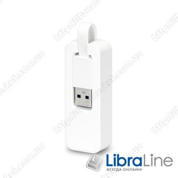 Сетевой, мережевий адаптер TP-LINK UE300 USB3.0  Gigabit Ethernet