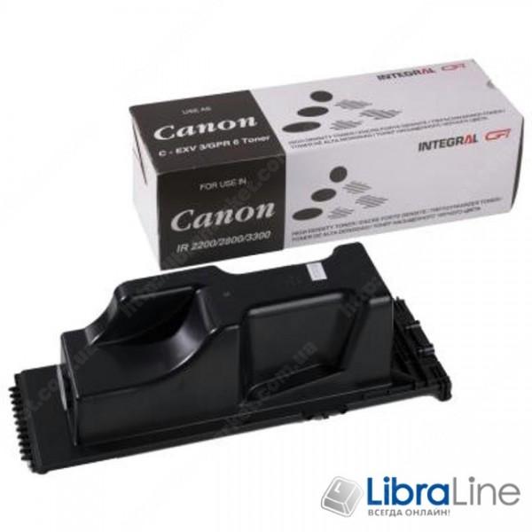 Тонер-туба CANON iR-2200 / iR2800 / iR3300 795г INTEGRAL C-EXV3 / 11500060