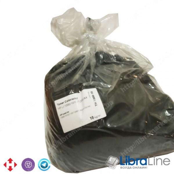 Купить TH-1000-10 Тонер HP LJ 1000 / 1010 / 1200 / 2100 / AX 10кг. Black Colorway 24151