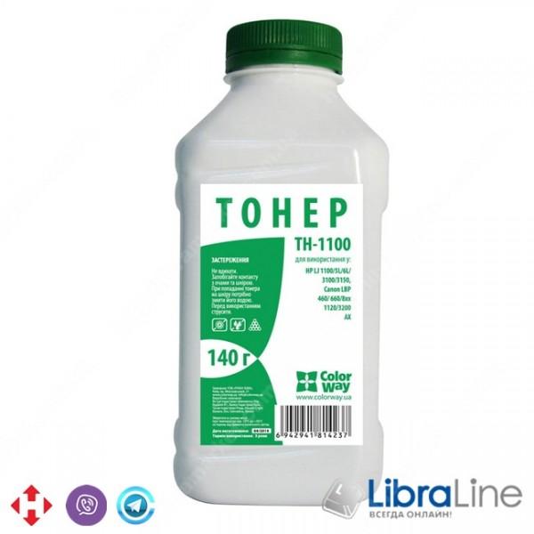 Купить 22952 TH-1100 Тонер - банка  HP LJ 1100 / 5L / AX 140г Black Colorway