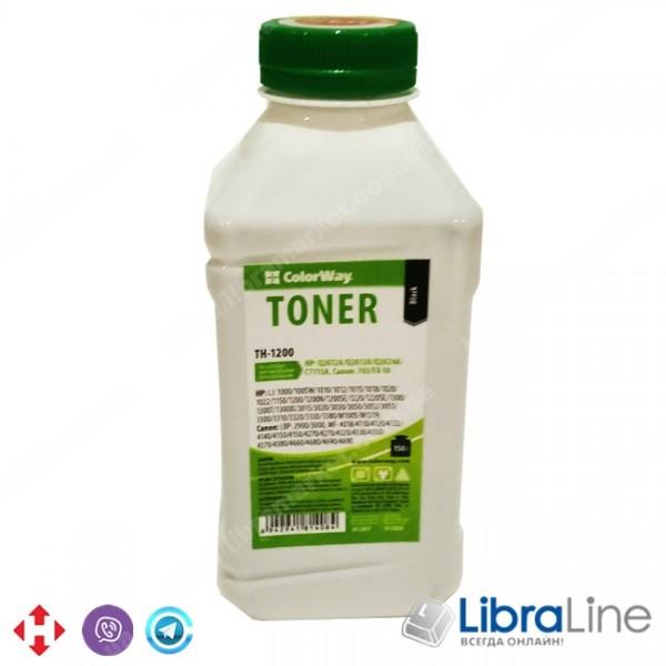 Купить 22953 TH-1200 Тонер HP LJ 1200 150г. банка Colorway