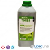 TH-1000-1B Тонер HP LJ 1000 / 1010 / 1200 / 2100 / AX 1кг. канистра Colorway 48486