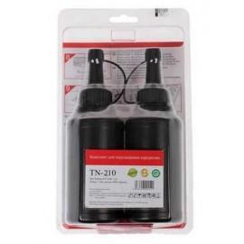 Тонер для заправки картриджа Pantum PC-230R M6500, P2200/2207 2*1600стр; 2 банки + 2 чипа TN-210