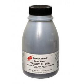 Тонер SAMSUNG ML-1210/LEXMARK E-210 60г банка Black Static Control TRLE210-60B