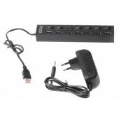 Концентратор Gembird UHB-U2P7-02 на 7 портов USB 2.0 Hub
