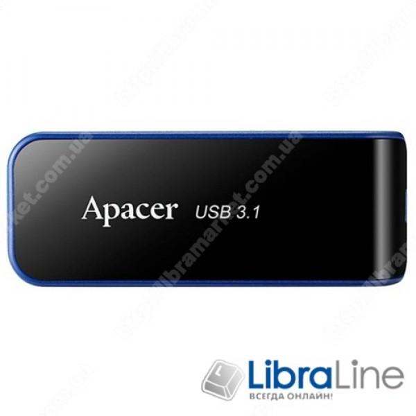 USB флеш накопитель Apacer 64GB AH356 Black USB 3.0 AP64GAH356B-1