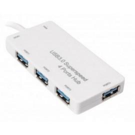 Концентратор Gembird UHB-U3P4-01 на 4 порта USB 3.0