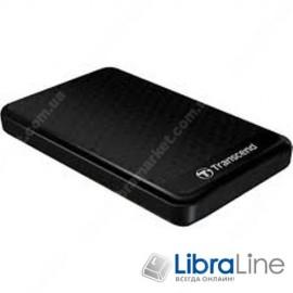 """TS1TSJ25A3K Внешний винчестер USB 3.0 Transcend StoreJet 25A3 1Tb 2.5"""" Black"""