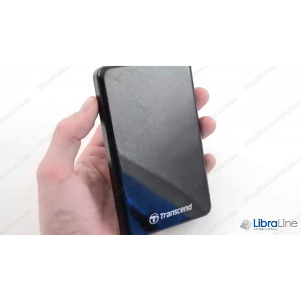"TS500GSJ25A3K Винчестер USB 3.0 Transcend StoreJet 25A3 500Gb 2.5"" Black"