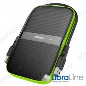 "SP500GBPHDA60S3K Винчестер USB 3.0 SiliconPower Armor A60 500Gb 2.5"" black"