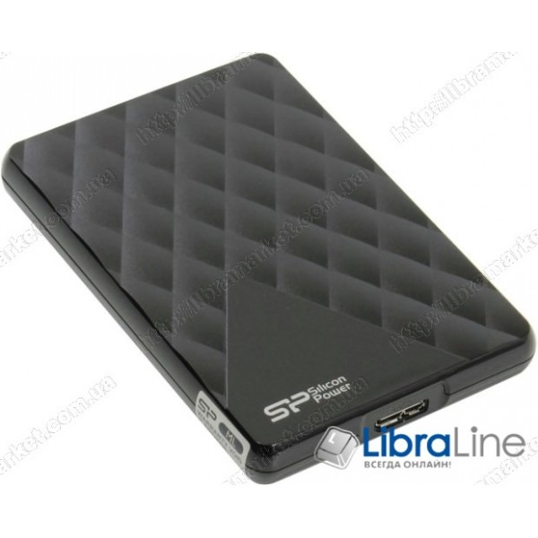 SP500GBPHDD06S3K Винчестер Silicon Power 2.5 USB 3.0 500GB Diamond D06 Black