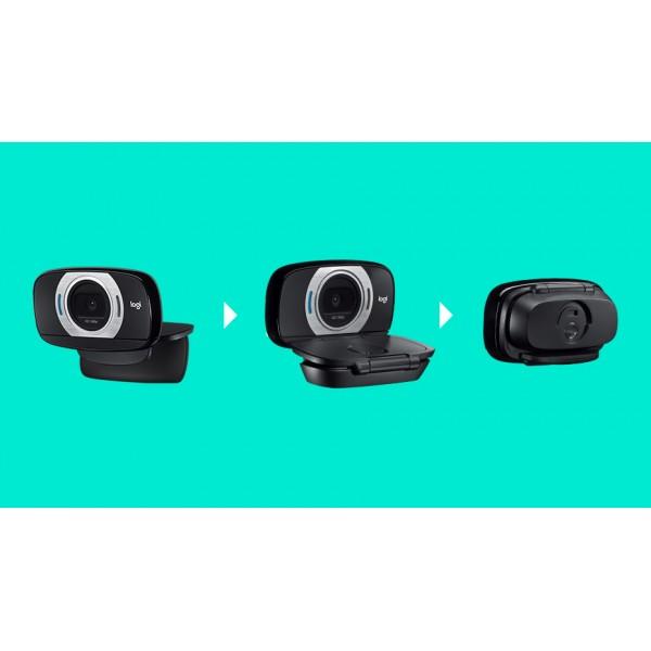 960-001056 Веб-камера Logitech HD Webcam C615 2.0M, Autofocus, mic