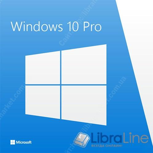 Программное обеспечение Microsoft Win Pro 10 64B Ukr 1pk DVD FQC-08978 MICROSOFT OEM фото 1