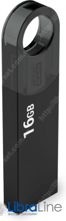 Флэш память Goodram URA2 USB 2.0 8Gb black URA2-0080K0R11 фото 1