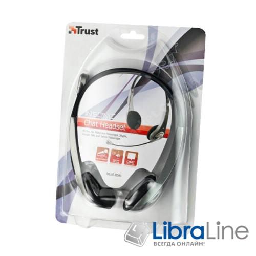 Гарнитура наушники + микрофон Trust Insonic chat headset 15481  фото 1
