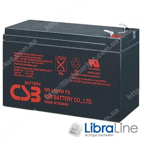 Аккумуляторная батарея CSB 12V9AH  151*65*94mm, HR1234WF2 фото 1