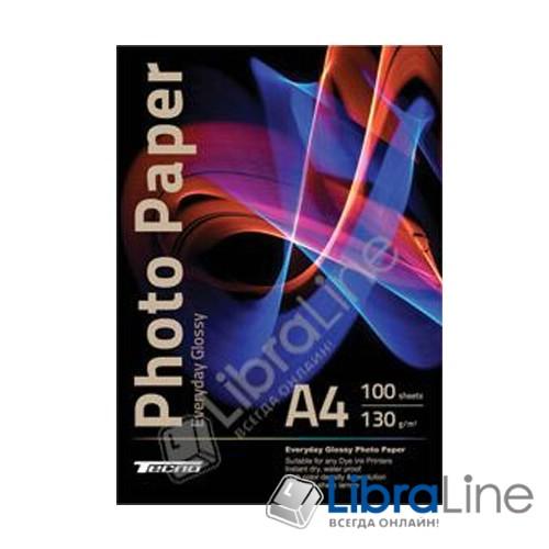 Фотобумага Tecno A4 Glossy 100л 130g Value pack Everyday фото 1
