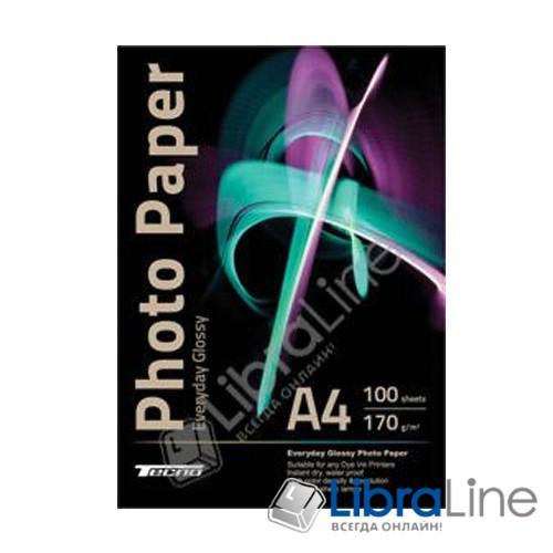 Фотобумага Tecno A4 Glossy 100л 170g Value pack Everyday фото 1