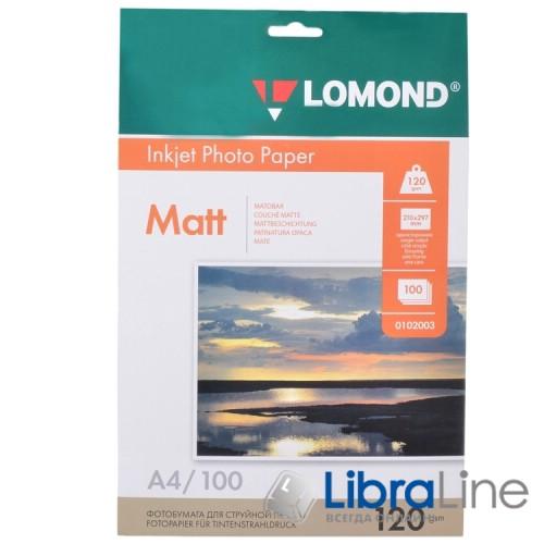 Фотобумага Lomond A4 Matte 100л 120g 0102003 фото 2