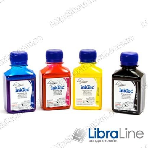 Чернила пигментные InkTec E0007 Epson C91 / CX4300 / 7300 / 8300 pigm.Black 100 мл. фото 1