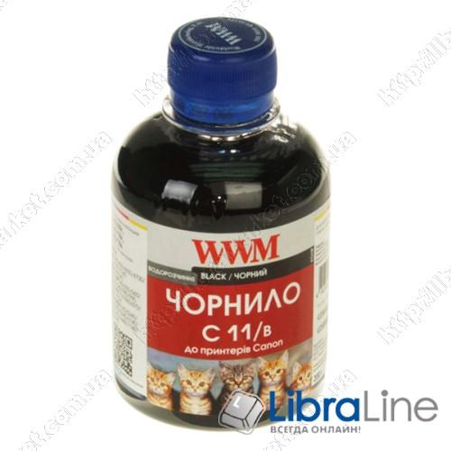 G220741 Чернила CANON CL511 / 513 / CLI521C / CLI426C 200г. Black WWM C11/B фото 1