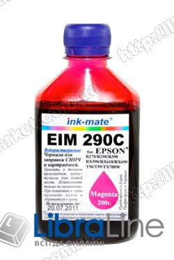 Чернила EPSON Stylus Photo R270 / 290 / 390 / RX610 EIM 290 Magenta Ink-Mate 200г. фото 1