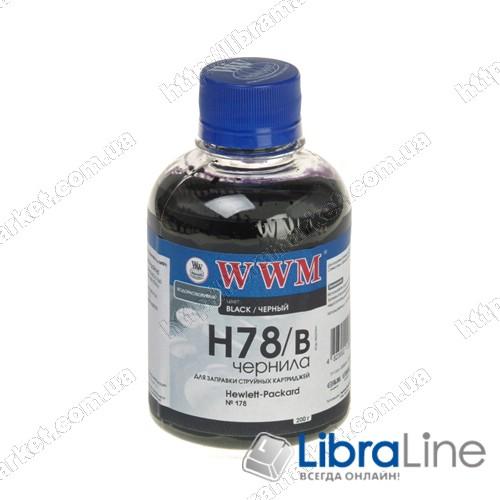 G225181 Чернила HP CB316HE / 321HE Black H78/B WWM Ink фото 1