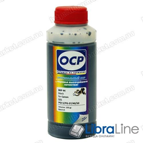 Чернила CANON BJC3000 / S400 / 450 / S4500 / 6XXX / iP4200  Black BKP44 OCP 100мл фото 1