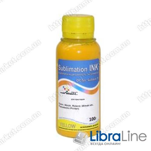 Сублимационные чернила DcTec Sublim Yellow 100г фото 1