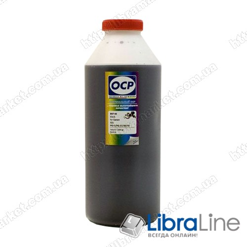 Чернила CANON BC-01/02  Black BK69 OCP 1000мл. фото 1