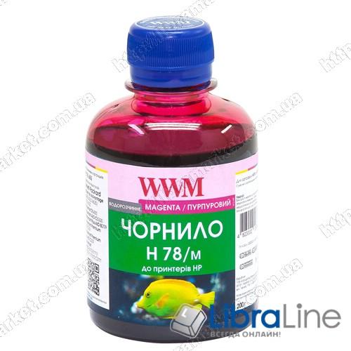 G225201 Чернила HP CB316HE/321HE Magenta H78/M WWM 200г. Ink фото 1