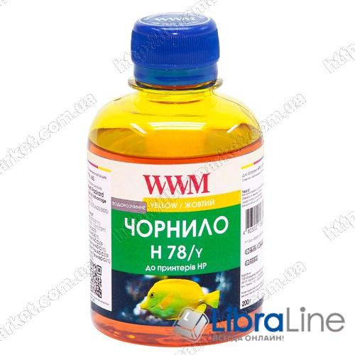 G225211 Чернила HP CB316HE/321HE Yellow H78/Y WWM 200г. Ink фото 1