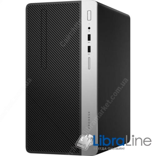 Персональный компьютер  HP ProDesk 400 G4 MT Intel i5-7500 1TB 4GB DVD-RW int kb m DOS 1KN94EA фото 1