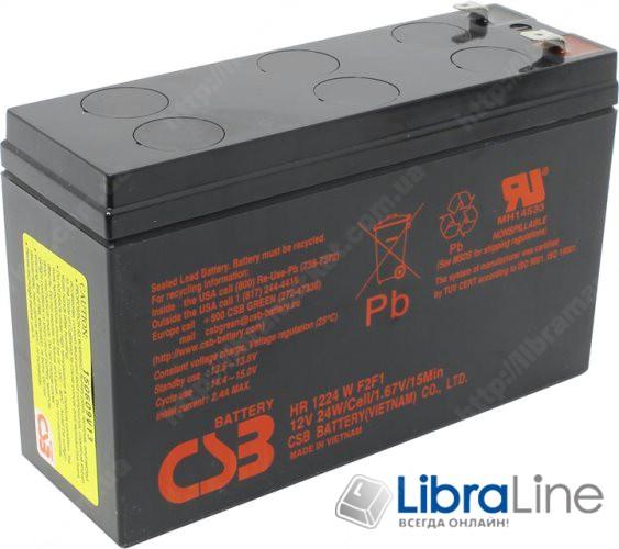 Аккумуляторная батарея CSB 12V6AH 151*94*51mm,  HR1224W фото 1